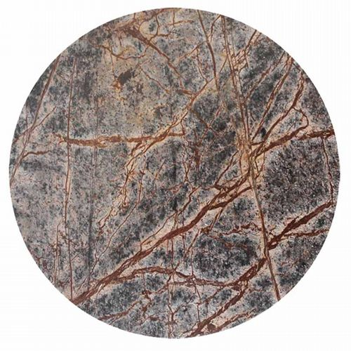 Large Round Forest Marble Board